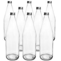 Orion Sada sklenených fliaš s viečkom Edensaft 0,7 l, 8 ks