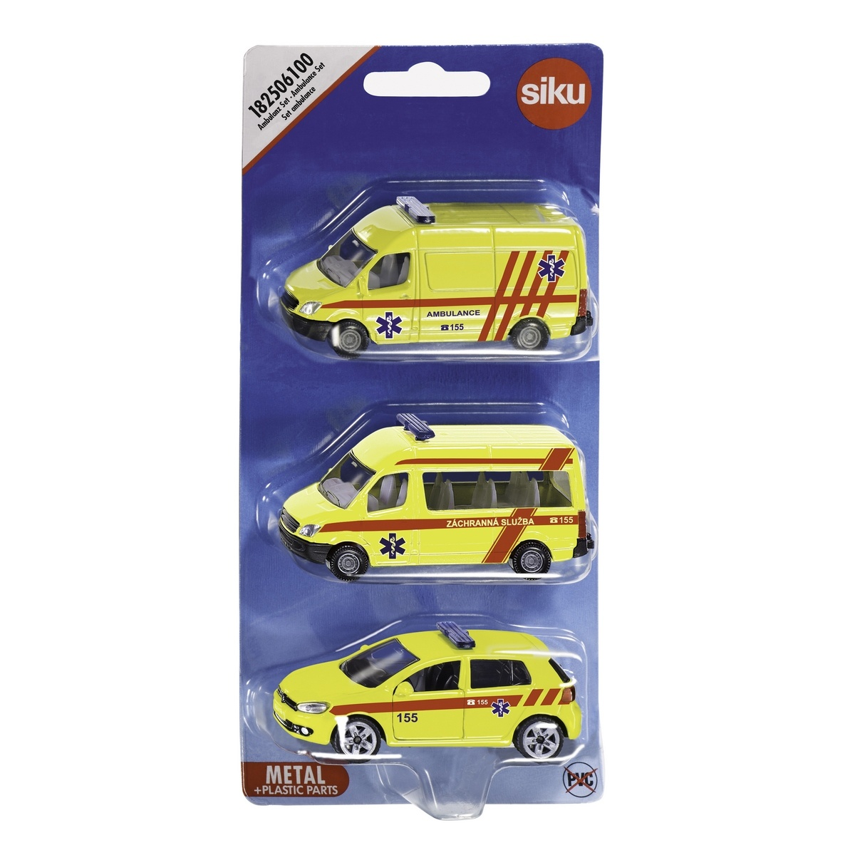Siku Sada áut Ambulance, 3 ks