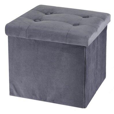 Koopman Úložný sedací box Smooth Velvet, sivá