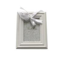 Felakasztható képkeret fehér, 10 x 15 cm