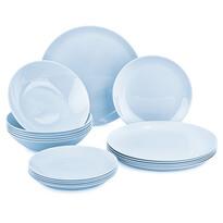 Mäser 18-częściowy serwis obiadowy Diwali Light Blue
