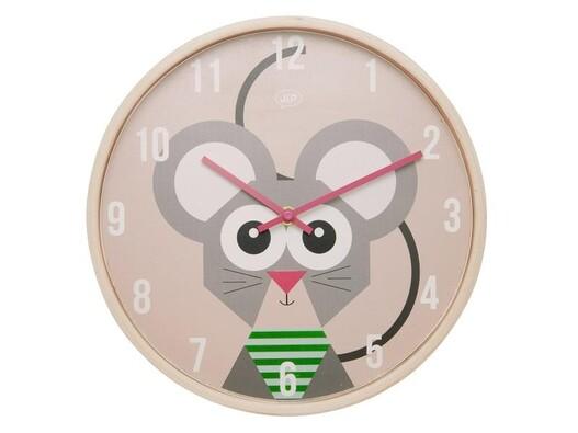 Karlsson JIP0902 detské nástenné hodiny s myškou