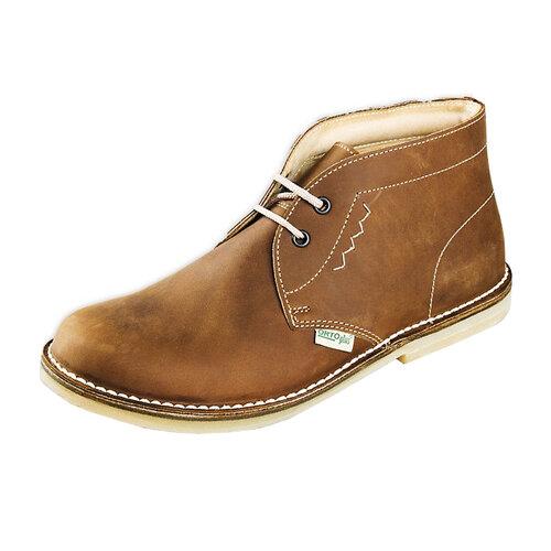 Dámska členková obuv, svetlo hnedá, 40