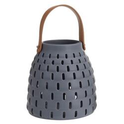 Latarenka ceramiczna Karima, szary