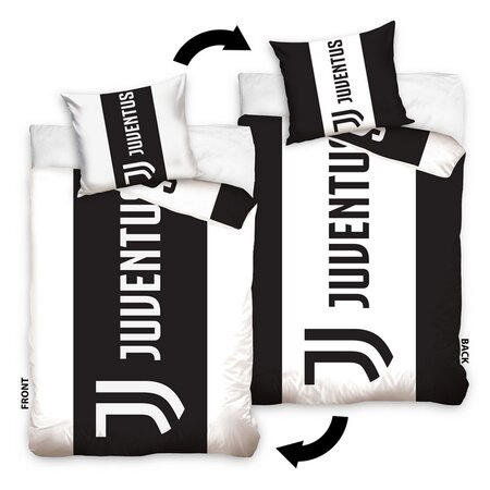 Lenjerie de pat FC Juventus Doppio, 140 x 200 cm,  70 x 90 cm
