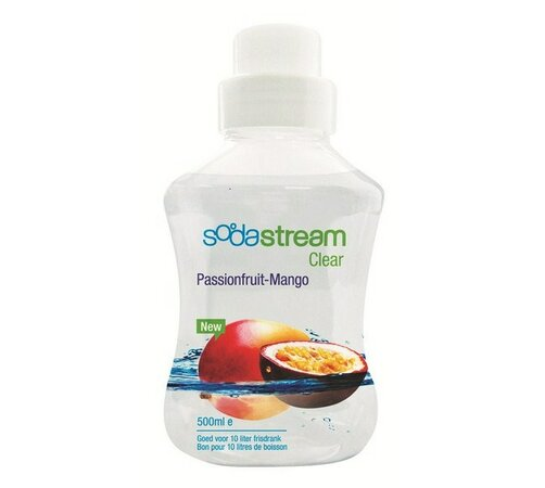 Sodastream Sirup Clear Marakuja-mango 500ml