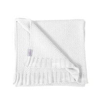 Pătură de copii Tully, alb, 80 x 100 cm