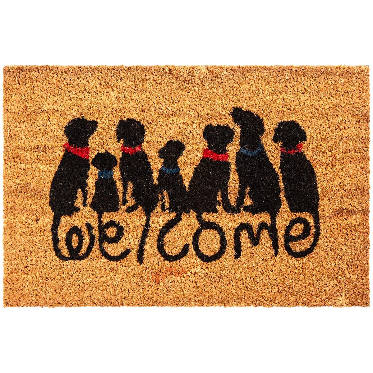Trade Concept Kokosová rohožka Dog Welcome, 40 x 60 cm