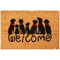 Kokosová rohožka Dog Welcome, 40 x 60 cm