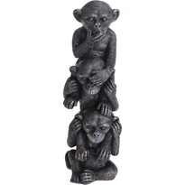 Koopman Polyresinová dekorácia Tri múdre opice, 31 cm