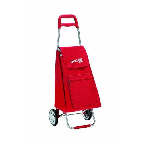 Nákupná taška na kolieskach Argo červená 45l, Gimi
