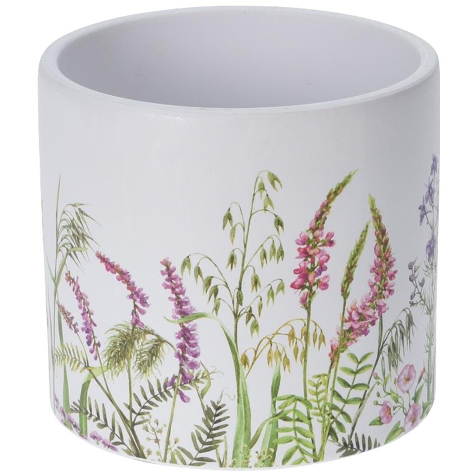 Keramický obal na kvetináč Albury, pr. 13,5 cm