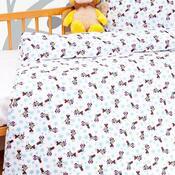 Dětské bavlněné povlečení do postýlky Minnie, 90 x 130 cm, 40 x 60 cm