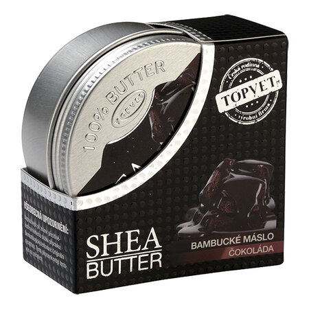 Topvet Bambucké máslo s čokoládou 100 ml