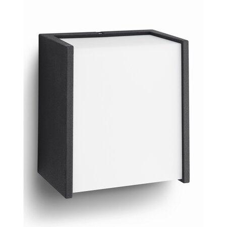 Philips 17302/30/P3 Macaw Venkovní nástěnné LED svítidlo 13 cm, černá