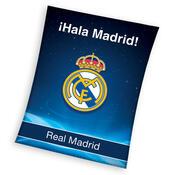 Fleecová deka Real Madrid! Hala Madrid,130 x 170 cm