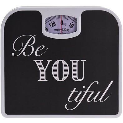 Osobná mechanická váha Be You, čierna