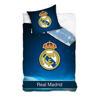 Bavlněné povlečení Real Madrid - Hala Madrid, 140 x 200 cm, 70 x 80 cm