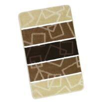 Dywanik łazienkowy Avangard brązowy, 60 x 100 cm