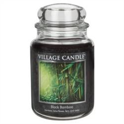 Village Candle Vonná sviečka Bambus - Black Bamboo, 645 g