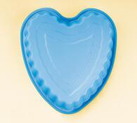 Silikonová forma srdce, 4Home, modrá