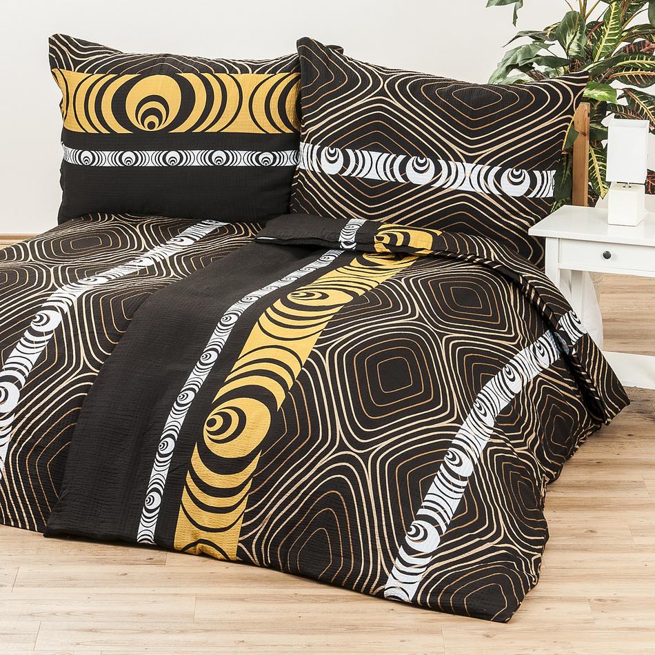 Jahu Krepové obliečky Goldy, 140 x 200 cm, 70 x 90 cm