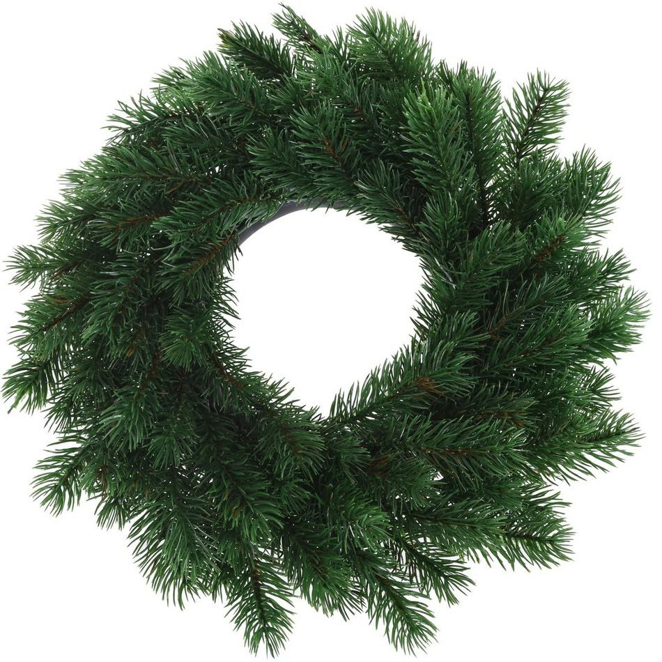 Vánoční věnec Corato zelená, pr. 35 cm