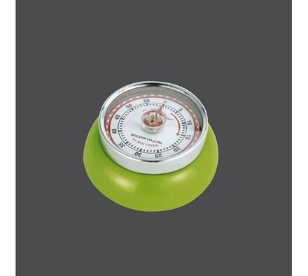 Kuchyňská magnetická minutka Speed Retro  zelená
