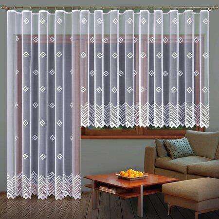 Záclona Barbora, 350 x 160 cm + 200 x 250 cm