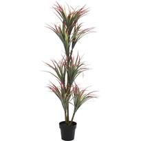 Koopman Umelá rastlina v kvetináči Yucca červená, 150 cm