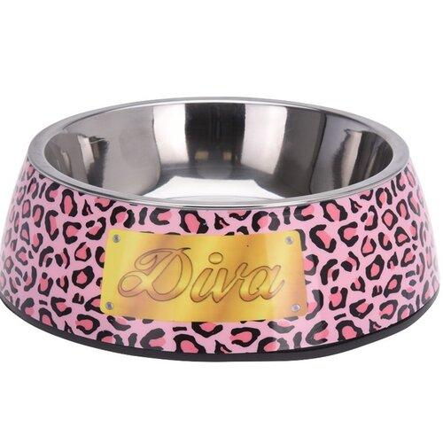 Miska pro psa Lovely pets Diva, růžová