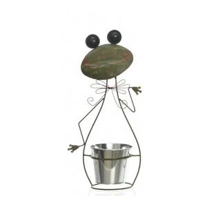 Zinkový květináč Žabka