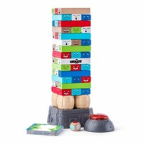 Woody Elektronikus játék időzítő funkcióval Torony, 10,5 x 29 cm