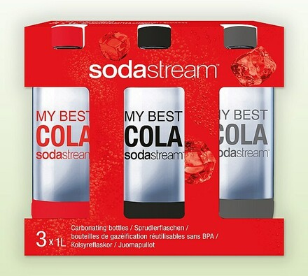Sodastream Cola tripack lahví