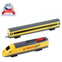 Rappa Vlak RegioJet so zvukom a svetlom, 53,5 cm