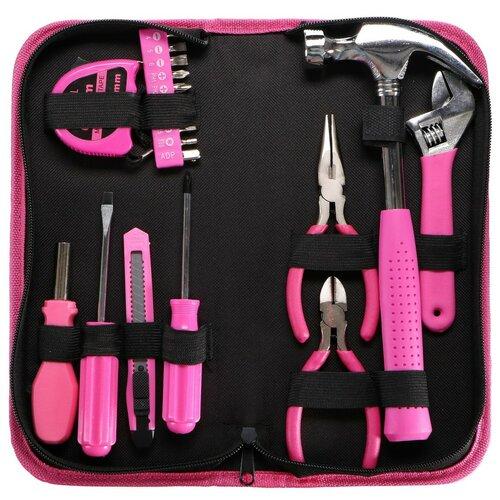 Set scule Sixtol Home Pink, 20 buc.