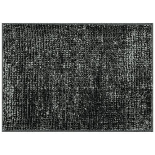 AmeliaHome Kúpeľňová predložka Bati čierna, 60 x 90 cm