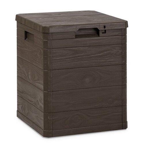 Aldo Úložný box na polstry Woody hnědá, 90 l