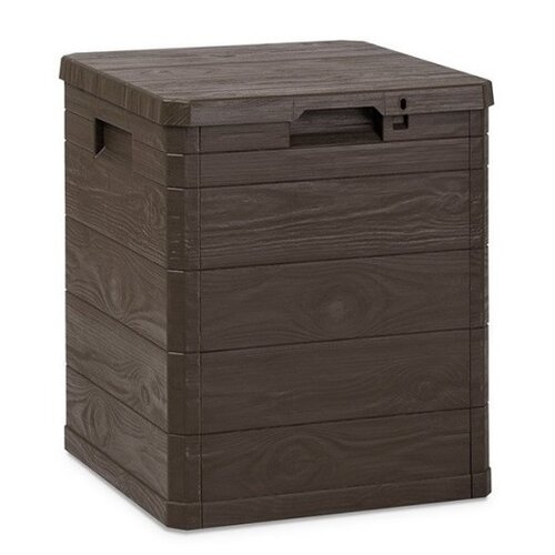 Úložný box na podušky Woody hnedá, 90 l