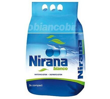 Prací prášek na bílé a světlé prádlo NIRANA Bianco3 kg