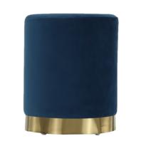 Taburet Alaz modrá, 31 x 31 x 38 cm
