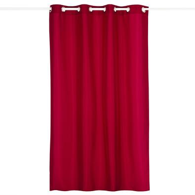 Závěs Carol červená, 140 x 240 cm