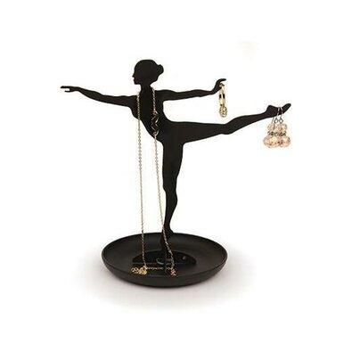 Stojánek na šperky Balerina, černá