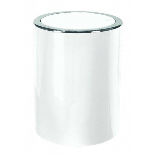 Kleine Wolke Kozmetický odpadkový kôš Clap Mini 1,5 l, biela