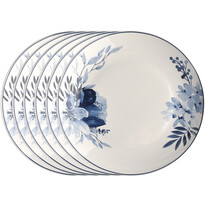 Altom Sada dezertných tanierov Infinity Blue, 20 cm, 6 ks