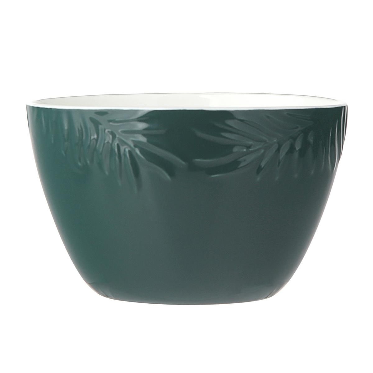Altom Porcelánová miska Tropical, 14 cm, zelená