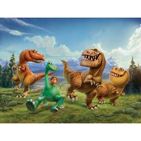 Dětská fototapeta XXL Hodný dinosaurus, 360 x 270 cm, 4 díly