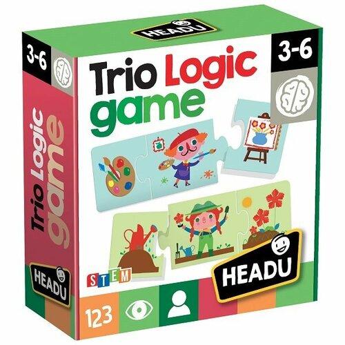 Headu Puzzle Súvislosti Trio Logic 12x3 dieliky