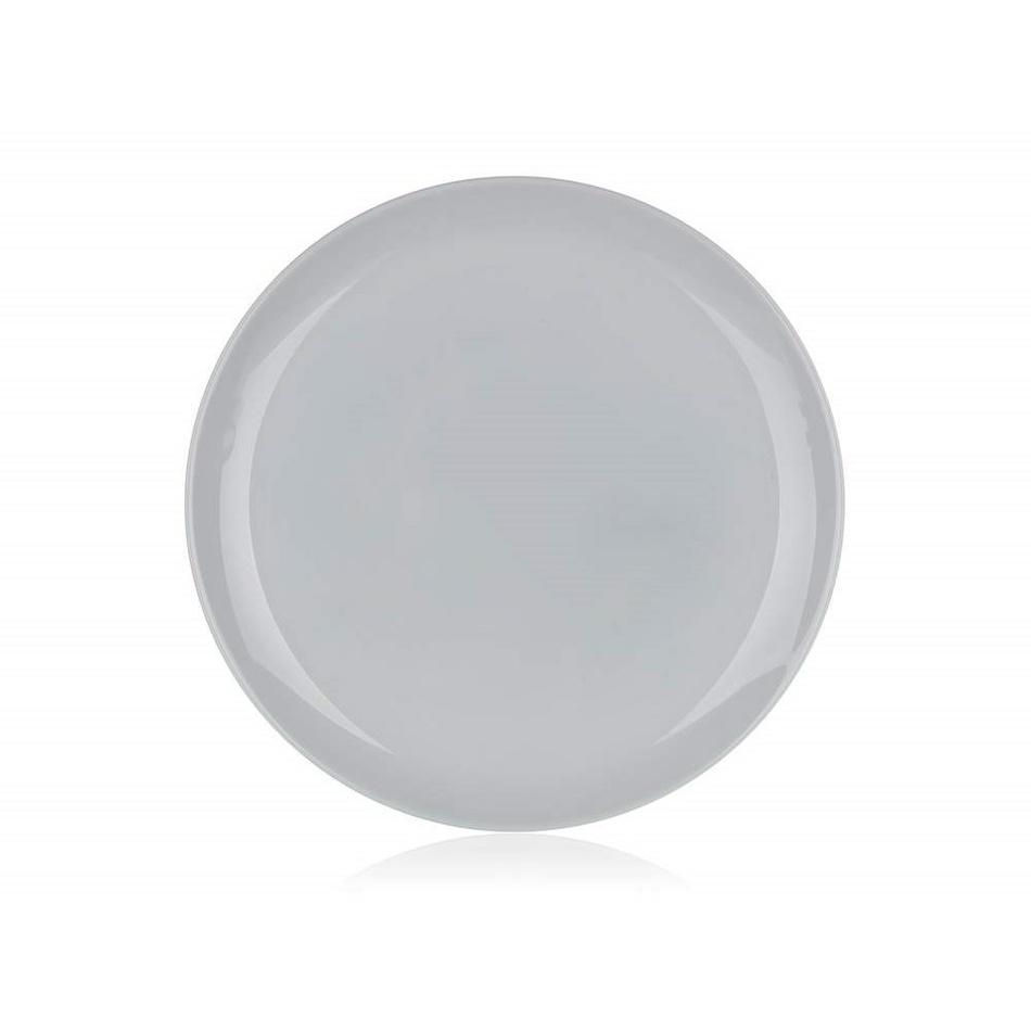 Luminarc Talíř mělký DIWALI 25 cm, 6 ks, šedá