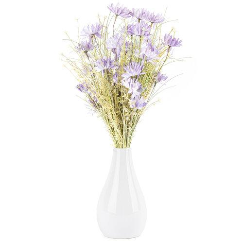 Umělé luční květy 50 cm, fialová